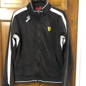Puma Ferrari Zippered Sweatshirt Jacket